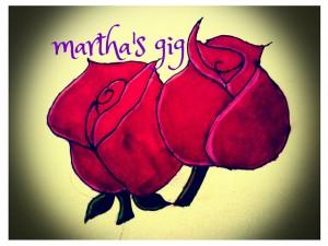 Martha's Gig rose